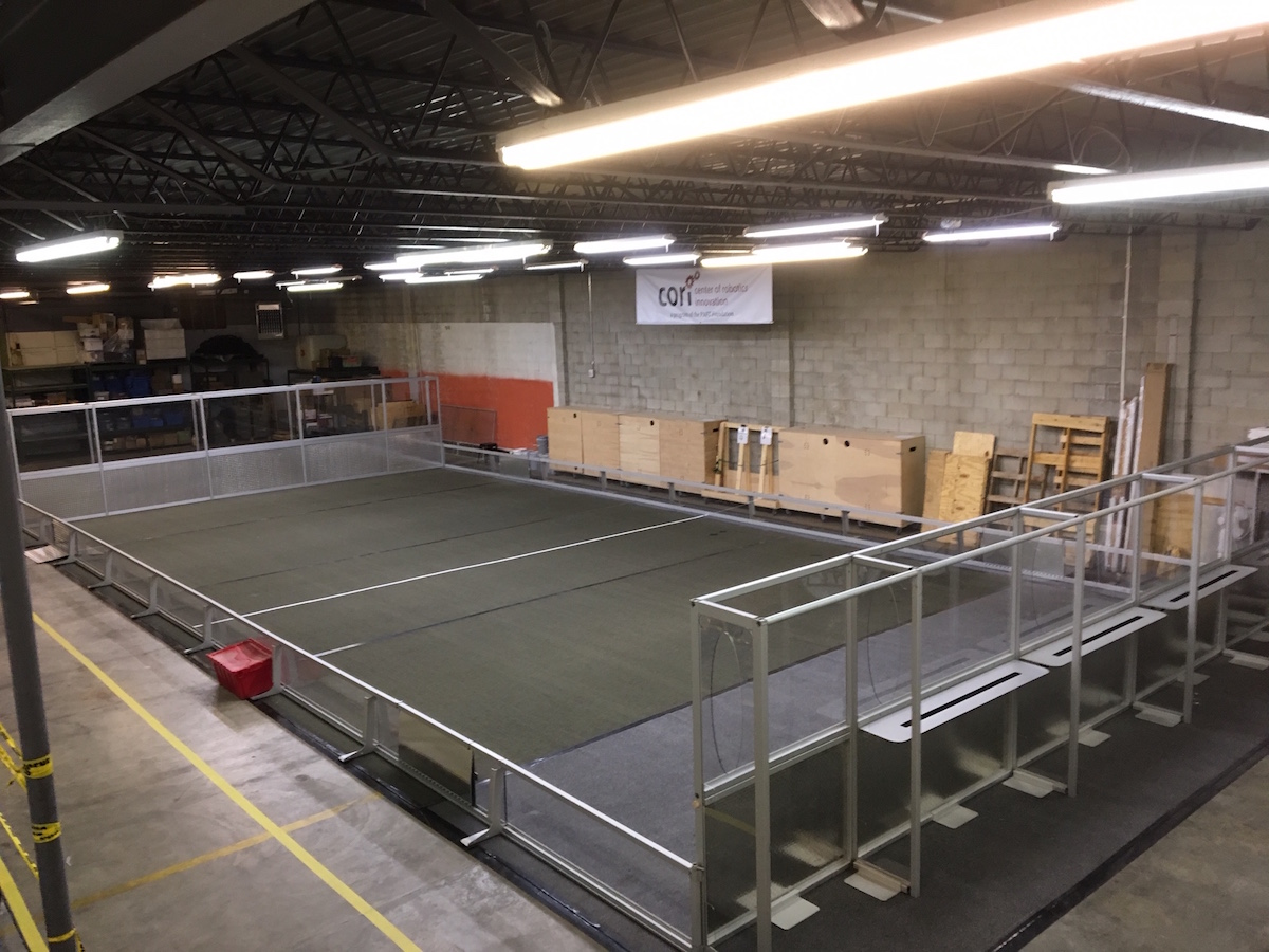 NEW 2017 Official Robotics Arena